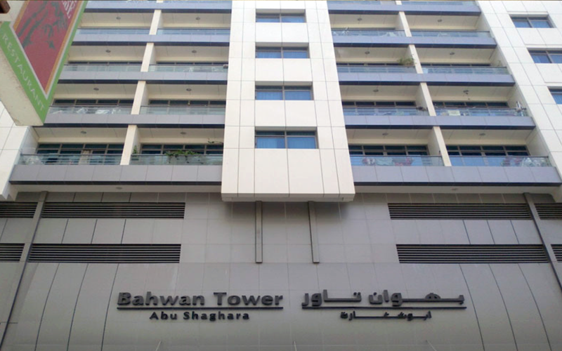 BAHWAN TOWER – ABU SHAGHARA, SHARJAH
